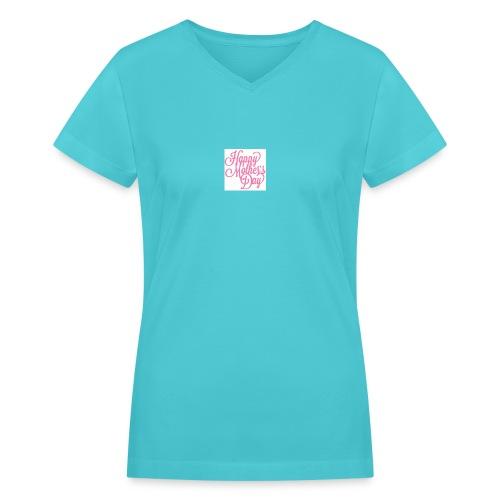 mothers day - Women's V-Neck T-Shirt