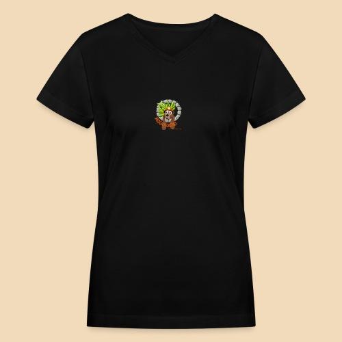Rockhound reduce size4 - Women's V-Neck T-Shirt
