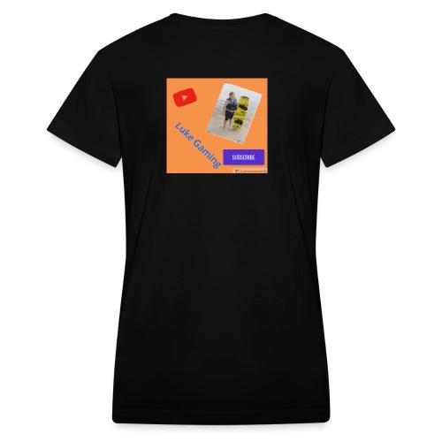 Luke Gaming T-Shirt - Women's V-Neck T-Shirt