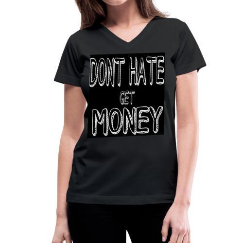 YBA BRAND - Women's V-Neck T-Shirt