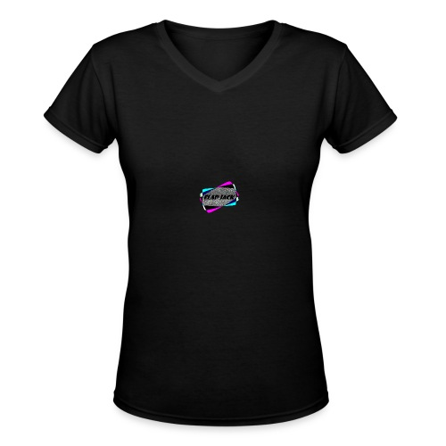 FlapJackSouthBlogo - Women's V-Neck T-Shirt
