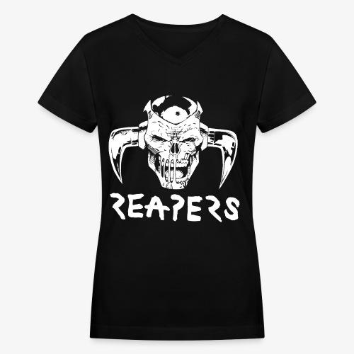 REAPERS Deathshead Shirt - Women's V-Neck T-Shirt