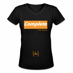 Complete the Square [fbt] - Women's V-Neck T-Shirt