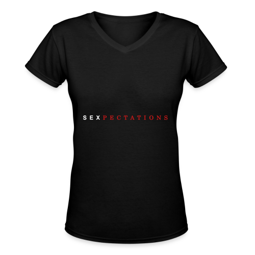 Sexpectations - Women's V-Neck T-Shirt