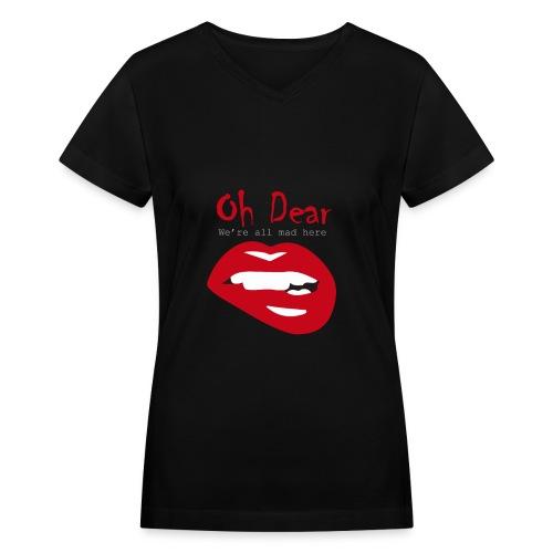 Oh Dear - Women's V-Neck T-Shirt