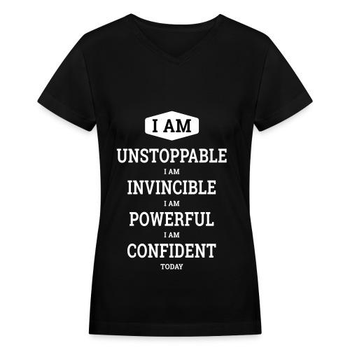 Unstoppable Original - Women's V-Neck T-Shirt