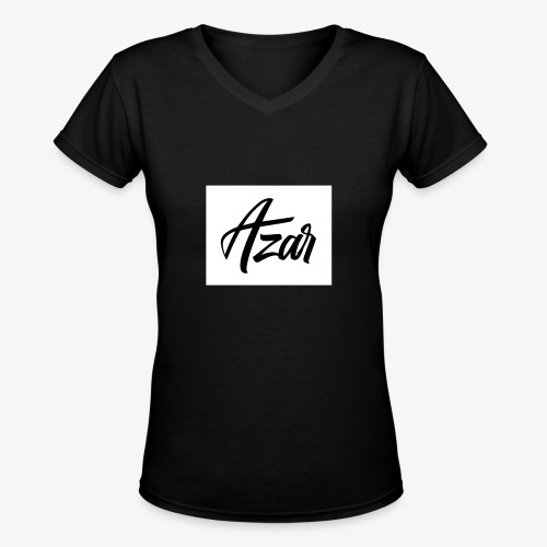 Azar - Women's V-Neck T-Shirt
