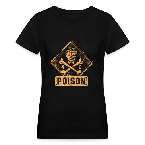 Presidential Poison - Women's V-Neck T-Shirt