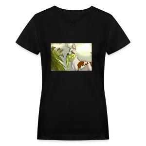 fullsizeoutput 76d - Women's V-Neck T-Shirt