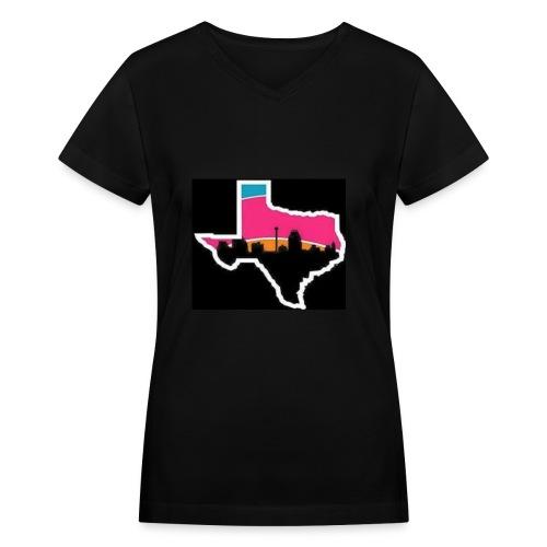 spurs gear - Women's V-Neck T-Shirt