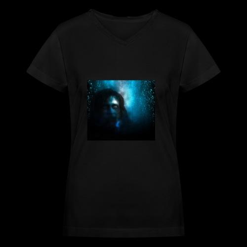 Fear Art 1 - Women's V-Neck T-Shirt