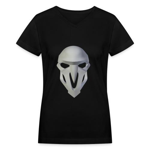Overwatch- Reaper - Women's V-Neck T-Shirt