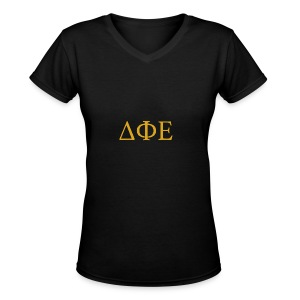 Good Ol Letters - Women's V-Neck T-Shirt