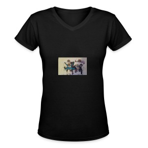 Nep and Friends - Women's V-Neck T-Shirt