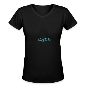 Main business color - Women's V-Neck T-Shirt