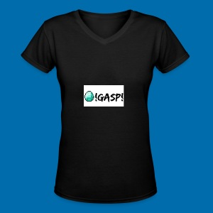 Diamond Gasp! - Women's V-Neck T-Shirt