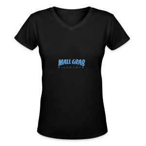 Mall Grab since 1978 - Women's V-Neck T-Shirt