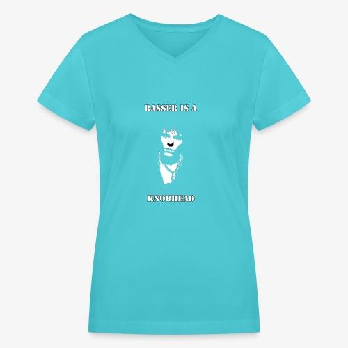 Basser Design - Women's V-Neck T-Shirt