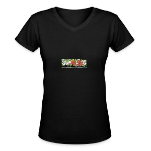 Shameless - Women's V-Neck T-Shirt