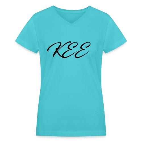 KEE Clothing - Women's V-Neck T-Shirt