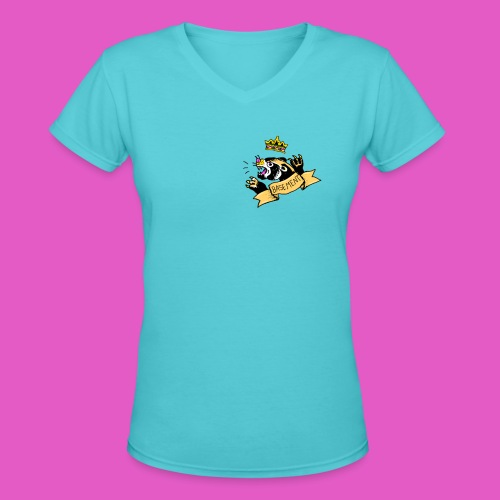 PANTHER png - Women's V-Neck T-Shirt
