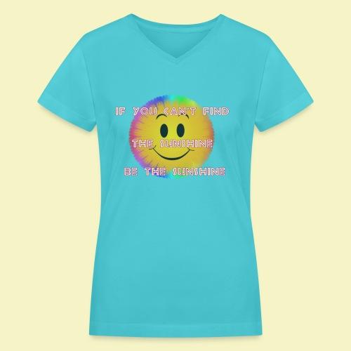 Sunshine - Women's V-Neck T-Shirt
