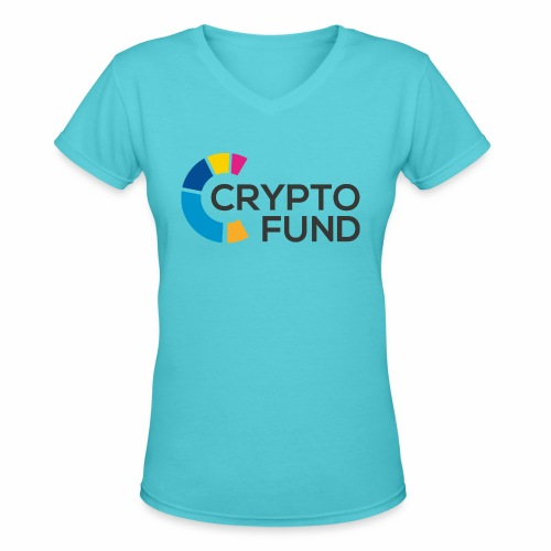 Cryptofund - Women's V-Neck T-Shirt