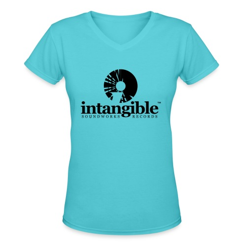 Intangible Soundworks - Women's V-Neck T-Shirt