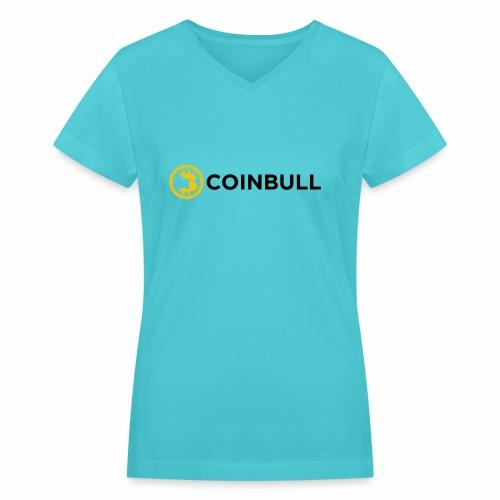 Coinbull - Women's V-Neck T-Shirt
