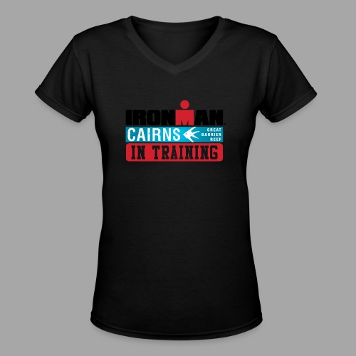 im cairns it - Women's V-Neck T-Shirt