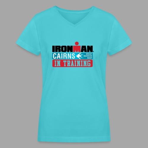 im cairns it - Women's V-Neck T-Shirt