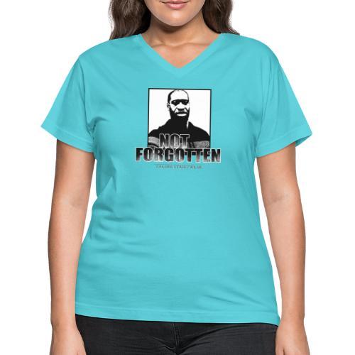 not forgotten - Women's V-Neck T-Shirt
