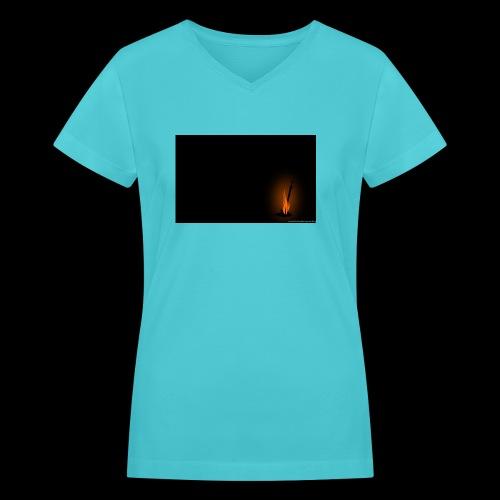 Fire-Links - Women's V-Neck T-Shirt