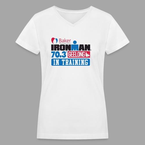 70.3 Geelong - Women's V-Neck T-Shirt