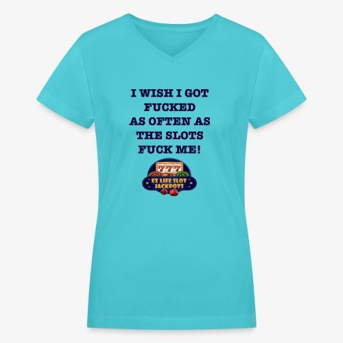 I Wish I got... - Women's V-Neck T-Shirt