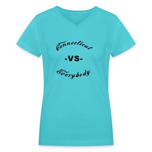 cutboy - Women's V-Neck T-Shirt