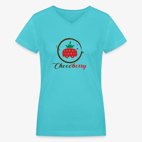 Chocoberry - Women's V-Neck T-Shirt