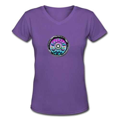 Charlie Brown Logo - Women's V-Neck T-Shirt