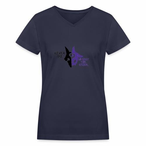 Kindred's design - Women's V-Neck T-Shirt