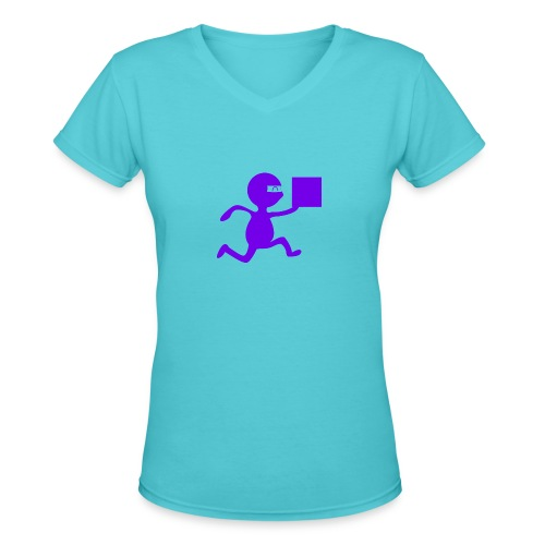 FedEx Ninja - Women's V-Neck T-Shirt
