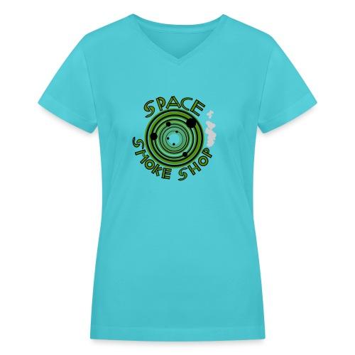 VIdeo Game Logo - Women's V-Neck T-Shirt