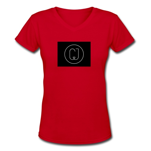 CJ - Women's V-Neck T-Shirt