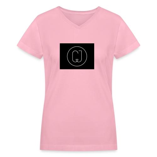 CJ - Women's V-Neck T-Shirt