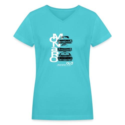 monaro over - Women's V-Neck T-Shirt