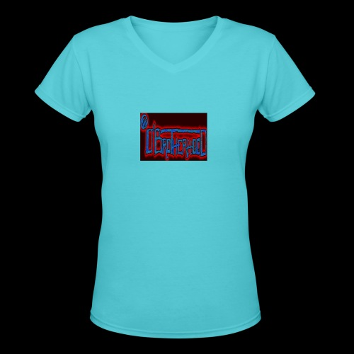 The D'BroTHerHooD Logo - Women's V-Neck T-Shirt