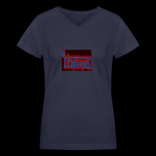 The D'BroTHerHooD Logo - Women's V-Neck T-Shirt