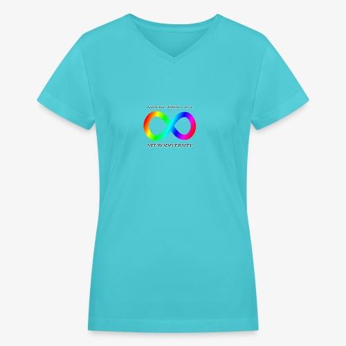 Embrace Neurodiversity - Women's V-Neck T-Shirt