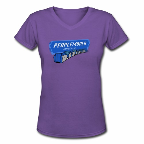 Peoplemover TMR - Women's V-Neck T-Shirt