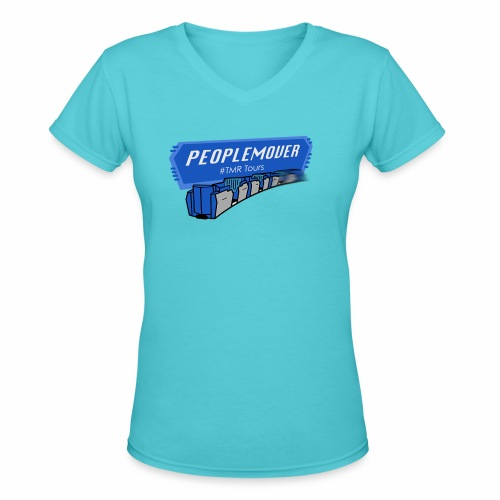 Peoplemover TMR - Women's V-Neck T-Shirt