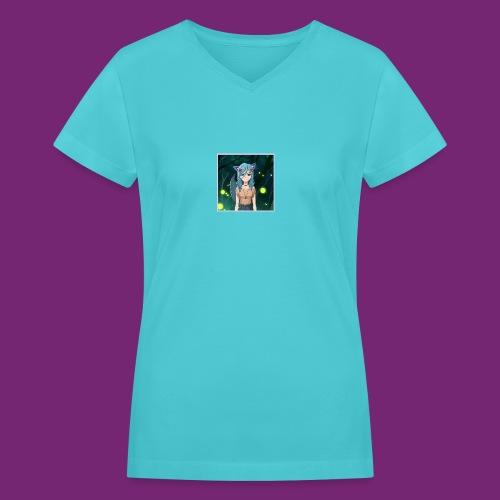 Wolfie Pack - Women's V-Neck T-Shirt